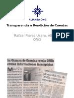Transparencia y Rendición de Cuentas.