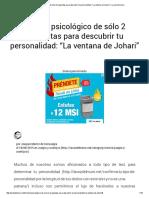"""Un Test Psicológico de Sólo 2 Preguntas Para Descubrir Tu Personalidad_ """"La Ventana de Johari"""" _ La Voz Del Muro"""