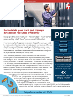 Consolidate your work and manage datacenter resources efficiently