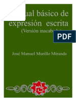 MURILLO MIRANDA, José Manuel. Manual Básico de Expresión Escrita.