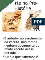 Slide a Arte Na Pré Hist