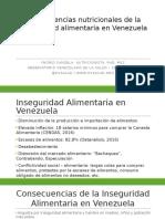 Consecuencias nutricionales de la inseguridad alimentaria en Venezuela