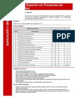 Técnico Superior en Proyectos de Edificación