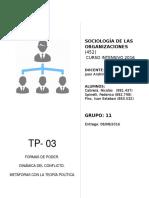 TP 03 - Grupo 11 - Poder, Conflictos y Política