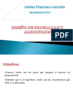 CLASE 2-Diseño de Programas y Agoritmos