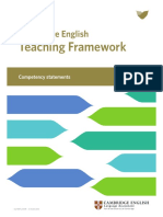 Full Level Descriptors Cambridge English Teaching Framework