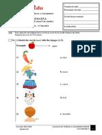 Subiect BestEdu Engleza Etapa III - 17 Mai 2014 - Clasele 2-3