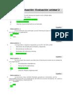 Realizar evaluación 2