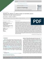 Modelado de La Influencia Del Cambio Climático en Los Sistemas de Cuencas Hidrográficas Adaptación a Través de Prácticas Dirigidas