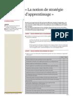 La notion de stratégie d'apprentissage.pdf