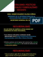 NEOLIBERALISMO POLITICAS MAGISTERIALES SINDICALISMO-MAG. HAMER EDUARDO VILLENA ZUNIGA.pdf