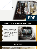 Subway Report