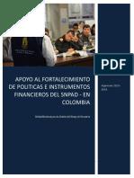 Proyecto Fortalecimiento Politicas 2015 2018