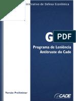Guia Programa de Leniencia Antitruste Do Cade Versao Preliminar
