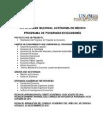 Plan de Estudios Posgrado en Economia TOMO 2