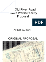 50 Old River Road Proposal