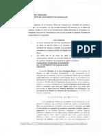 Dictamen Acuerdo Plataforma Nacional de Transparencia