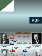 Clase Acidos y Bases