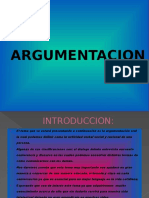 Argumentación, dialogo, entrevista