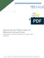 Reflexiones Sobre La Reforma Procesal Penal 2014