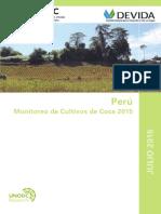 Peru Monitoreo Coca 2016