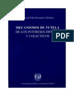 Mecanismos de tutela de los intereses difusos y colectivos; Hernández, María del Pilar; 1997