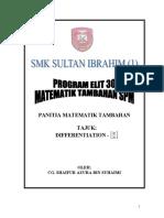 Koleksi Soalan Matematik Tambahan Spm 2004-2009-Differentiation