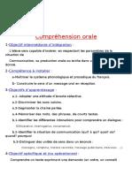 1 Compréhension orale PR1  SQ3  Sé1  4°AP