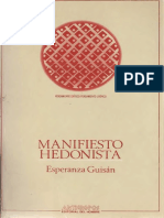 Guisan, Esperanza - Manifiesto Hedonista