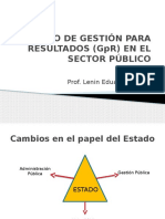 Modelo de Gestión Para Resultados (Gpr)