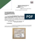 Informe Grafoscopia