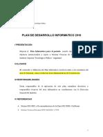 Plan Dedes Arrollo Inform a Tico