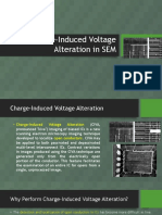 Charge-Induced Voltage Alteration in SEM