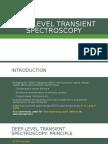 Deep-level Transient Spectroscopy