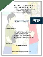 Informe Tuberculosis Trabajo Terminadoooooo