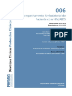 006 Acompanhamento Ambulatorial Do Paciente Com HIV AIDS 07082014
