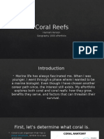 coral reefs eport