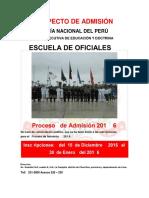 Prospecto Admision EOPNP 2016