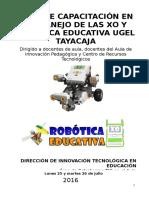 Plan Robotica