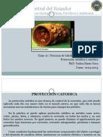 Tecnicas de Inhibicion Proteccion Catodica y Anodica PhD. Yailen Busto