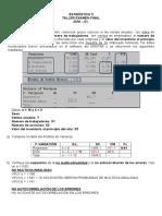 Ejercicios de Estadística II