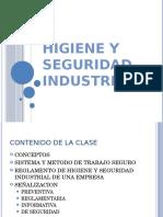 HIGIENE Y SEGURIDAD INDUSTRIAL + PLAN DE EMERGENCIAS