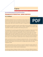 Management of Default Loan - Global Experience