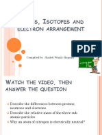 Atoms, Isotope and Electron arrangement review.pdf