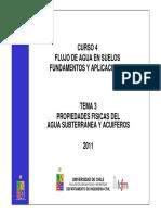 Tema03 - Propiedades Fisicas Del Agua Subterranea y Acuiferos