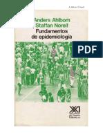 Fundamentos de Epidemiologá