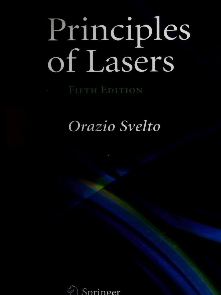 principles of lasers svelto orazio