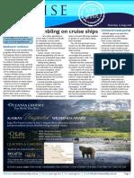 Cruise Weekly for Thu 11 Aug 2016 - Gambling on WA cruises, Uniworld, Seabourn, Sealink, Norwegian Cruise Line, One Ocean AMPERSAND more
