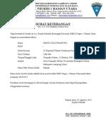 Surat Keterangan Siswa SMK