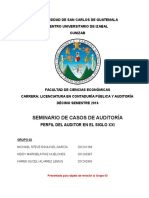 Perfil Del Contador Público y Auditor Para El Siglo Xxi